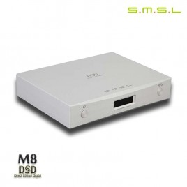 SMSL 2015 M8 OPTIC/Coaxial/XMOS USB DAC HIFI EXQUIS ES9018 Asynchronous 384KHZ/24Bit DSD64/128 converter