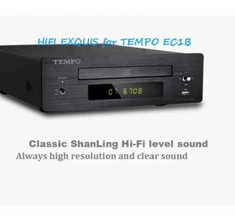 SHANLING New TEMPO EC1B Hi-Fi CD HDCD player HIFI EXQUIS with USB key input Coaxial Optical Line outputs
