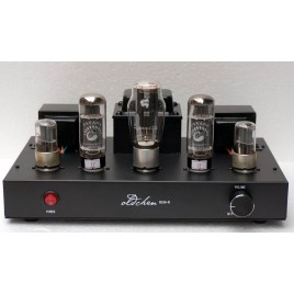 AIQIN(Oldchen)PSVANE EL34 tube amps HIFI EXQUIS Single-ended Class A handmade Scaffolding amplifier Black Version