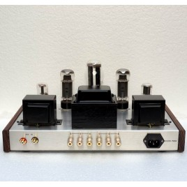 AIQIN(Oldchen) EL34 tube amps HIFI EXQUIS Single-ended Class A handmade amplifier finished product Silver Edition