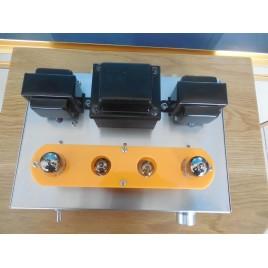 Old Buffalo 6P1 tube amplifier HIFI EXQUIS Perfect sound quality scaffolding Teflon silver wire