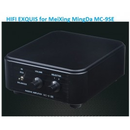 MeiXing MingDa MC-9SE Passive preamp HIFI EXQUIS Britain power transformer Balance preamp 7 times amplification