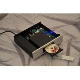 MUZISHARE X5CD CD player HIFI EXQUIS amp tube 12AU7 24bit / 192khz DAC PCM1972 chip