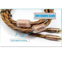 HIFI EXQUIS CHOSEAL Q-845 RCA audio signal cable