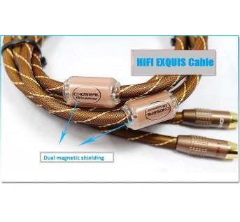 HIFI EXQUIS CHOSERL Akihabara Q-845 RCA audio signal cable