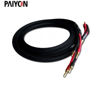 Paiyon P8581 hifi speaker wire cable banana plug wire hi-fi - HIFI on orange wire, ice wire, fish wire, 22 g wire, bi-wire speakers standard wire, oil wire, alagator clip wire,