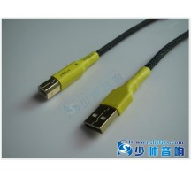 Decoder hifi exquis Grade fever High-speed USB 2.0 data cable Teflon silver plated wire production Double ring