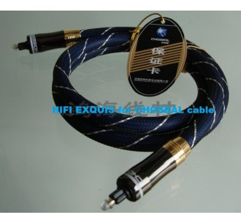 CHOSEAL GB-1702 SPDIF Optical cable 1 or 1.5 Meter HIFI EXQUIS digital cable