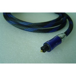Xiangsheng Upscale fiber optic SPDIF cable with gold plated head anti-shock braided mesh hifi exquis