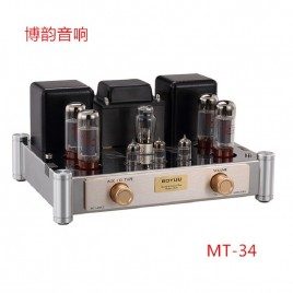 BOYUU New version MT-34 EL34 Push-Pull tube amplifier HIFI EXQUIS Class A finished product amp