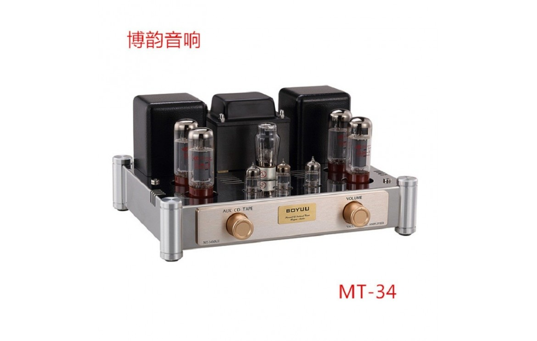 pull push tube el34 amplifier boyuu amp mt exquis hifi tubes class