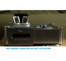 YAQIN SD-33A Tube HDCD CD Player HIFI EXQUIS turntable with Balance Coaxial Tube OP-amp outputs