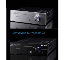Trasam A7 hif amplifier hifi exquis 2.0 profesionnal home amplifier hifi exquis gold-plated copper crystal standard banana plug