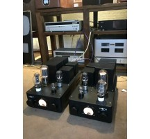 Rivals 300B 845 single-ended Class A tube amplifier HIFI EXQUIS high power double channels