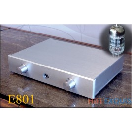 Breeze Audio E802 12AU7 Tube Mosfet Headphone Amplifier HIFI EXQUIS Weiliang Headset E801 Hybrid Amp
