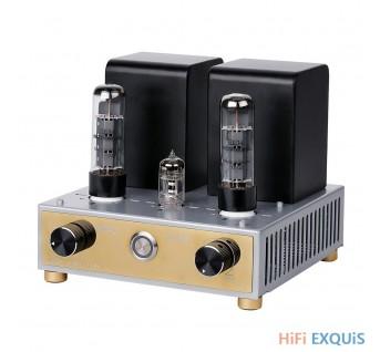 APPJ EL34 12AX7Tube Amplifier HIFI EXQUIS Class A Single-ended Mini Tesktop AMP