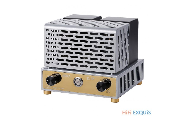el34 amplifier ended single 12ax7 tube appj amp hifi exquis class mini