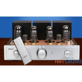 RFTLYS A5 KT88 Tube Amplifier HIFI EXQUIS Integrated Push & Pull AMP with Bluetooth
