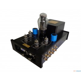 MeiXing MingDa MC-7R Tube preamplifier HIFI EXQUIS preamp with psvane 274B lamp rectifier