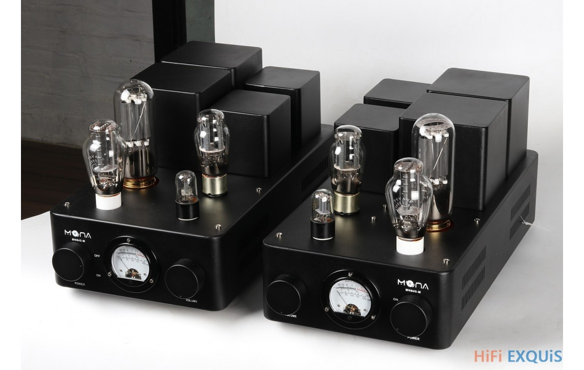 Himing Mona 845 300b Mono Bloc Tube Amplifier Monoblock Amplifiers Rivals Single Ended Class A Hifi Exquis High Power Double Channels