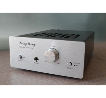 XiangSheng H-06A Hybrid amplifier HIFI EXQUIS 6J1 tube pre-amplifier LM1876T transistor mix power with headphone output amp